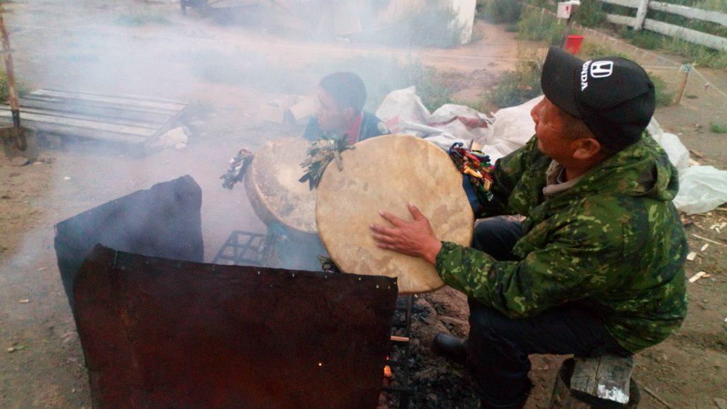 Trommel Sibirien Schamanen